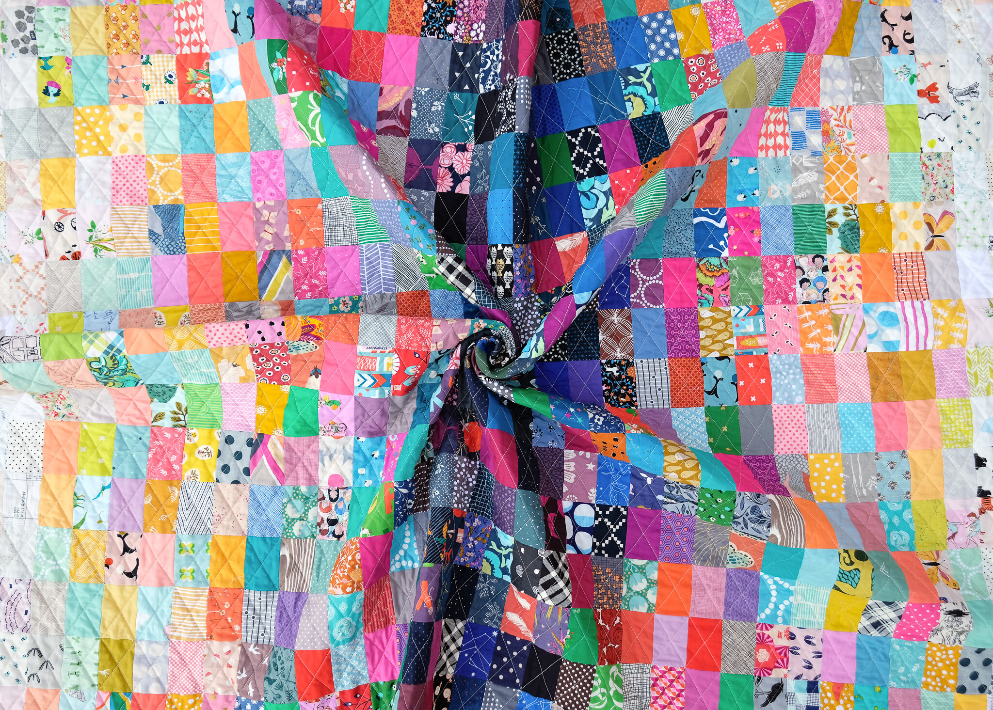 A Valued Scrap Quilt - Kitchen Table Quilting