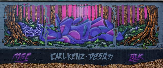 Graffiti 2021 in Kaiserslautern