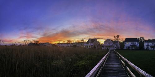 2018 architecture beach beachlife clouds dusk eastpatchogue hdr home imran longisland newyork sunset boardwalk community iphone neighborhood privateproperty summer