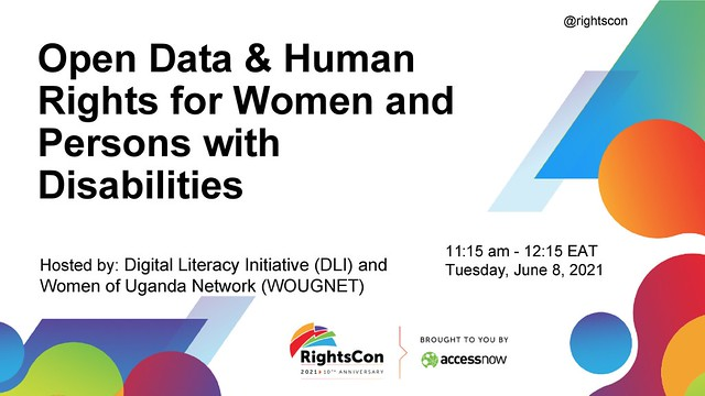 Open Data and Human Rights for Women and Persons with Disabilities