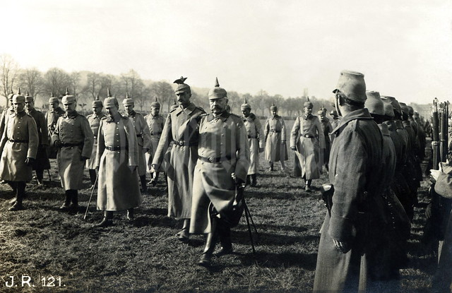Parade of the 26. Infanterie-Division near Mutzig