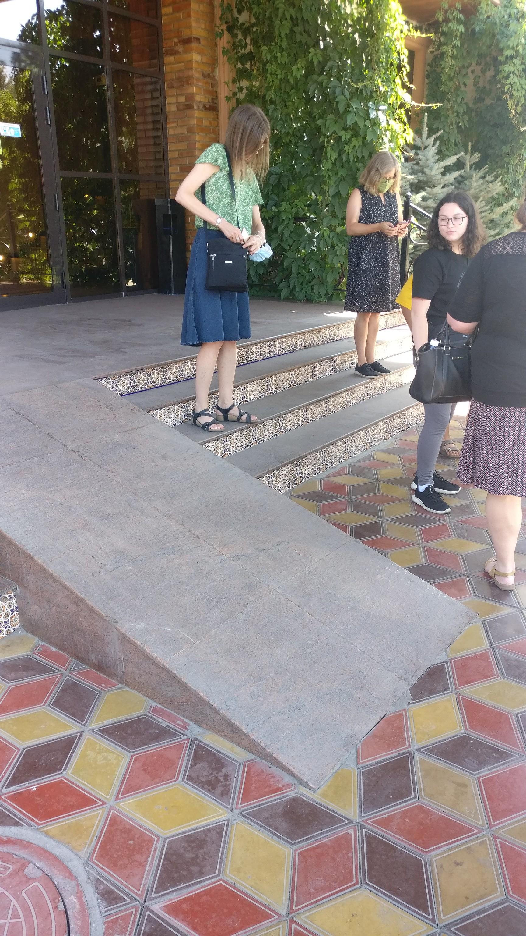 Ramp in Bishkek