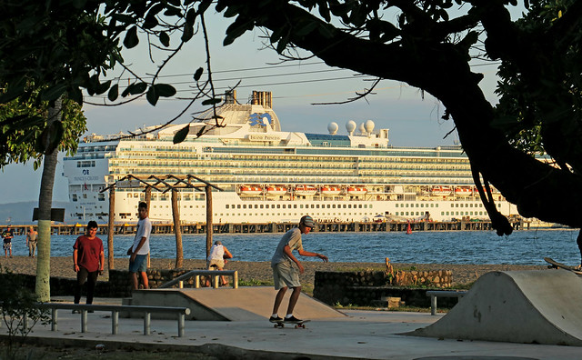 Ship's in Port - Puntarenas, Costa Rica