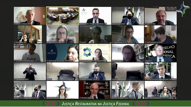 19/08/2021 Abertura do evento Justiça Restaurativa na Justiça Federal