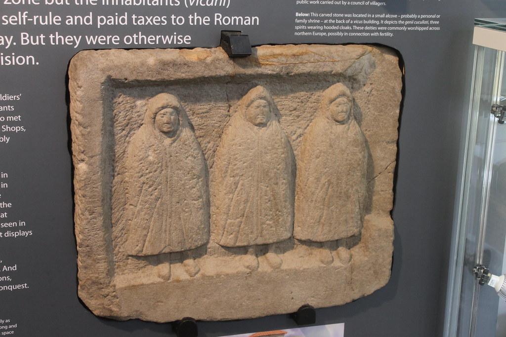 Relief of the Genii Cucullati