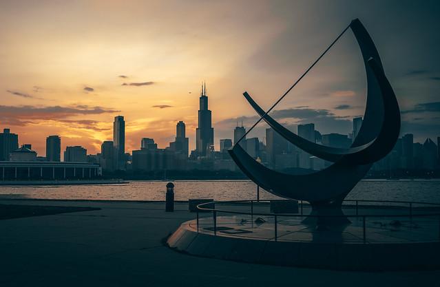 Chicago, IL - Skyline