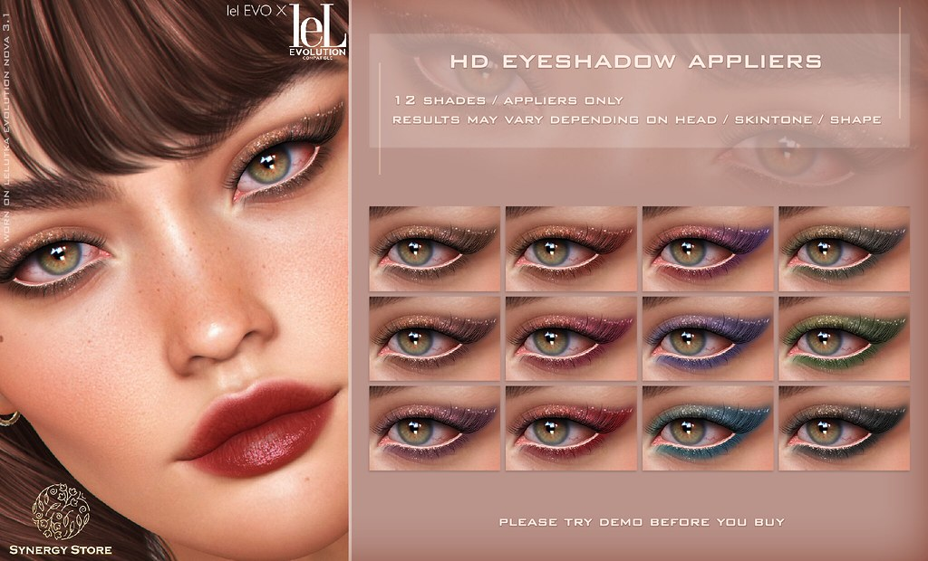 Synergy – Lelutka HD Eyeshadow Applier for EVO/EVO X heads – Dijon♥