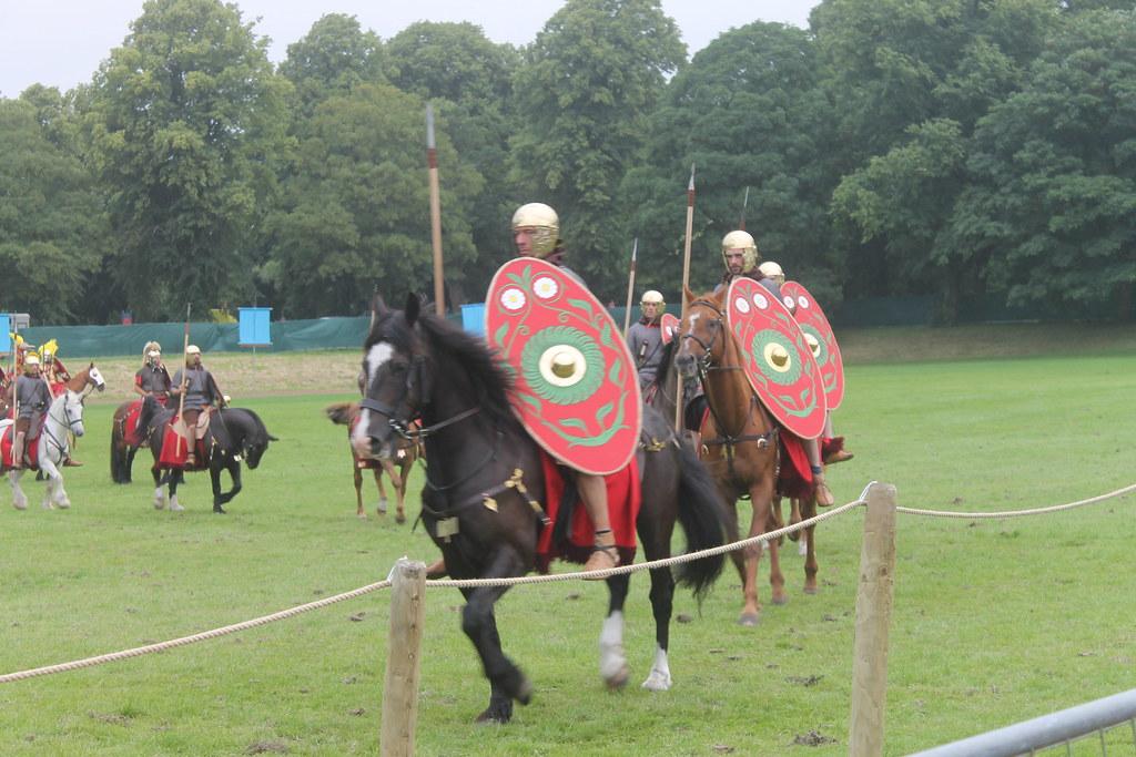 Roman Cavalry Reenactment
