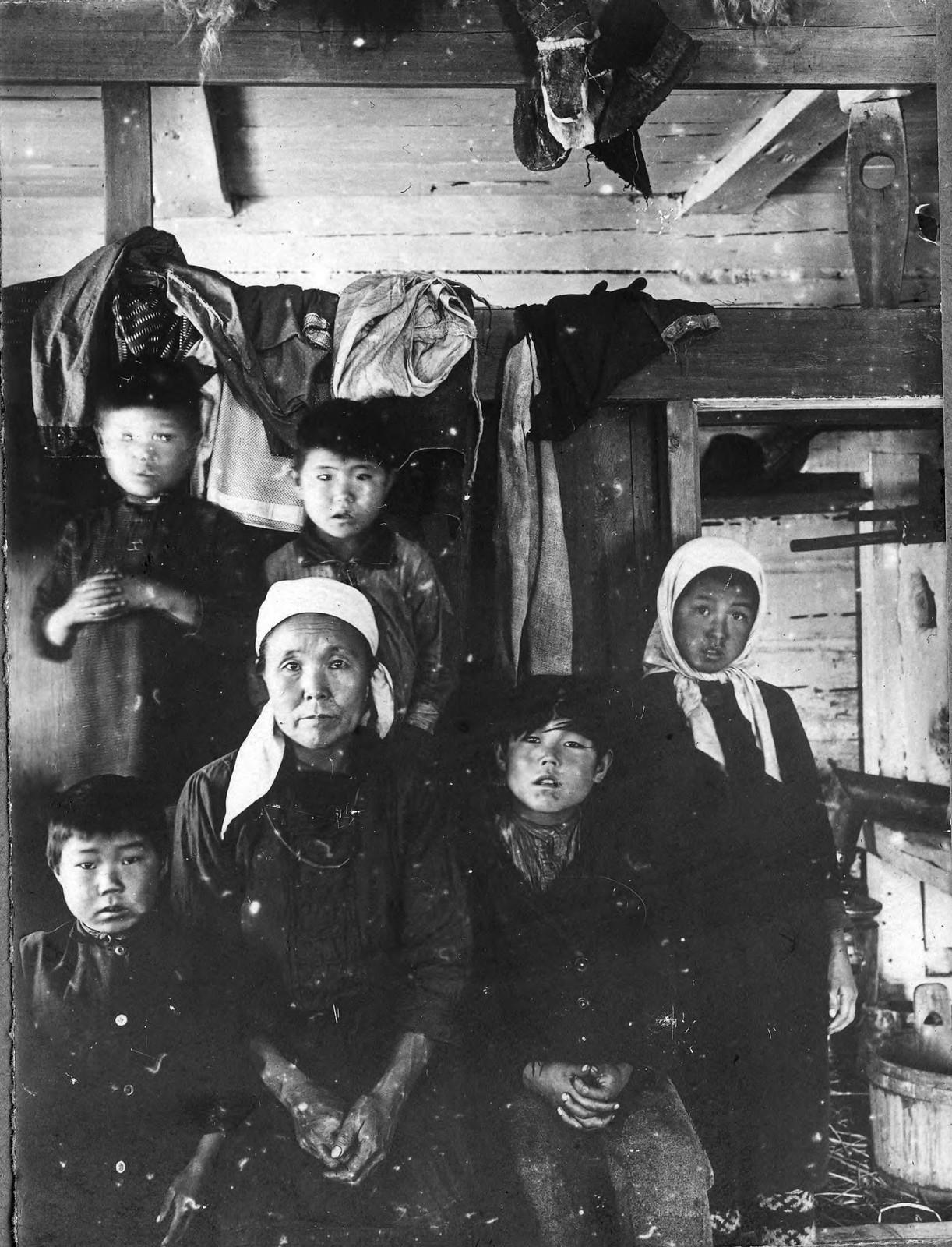 Семья тунгуса Северьян