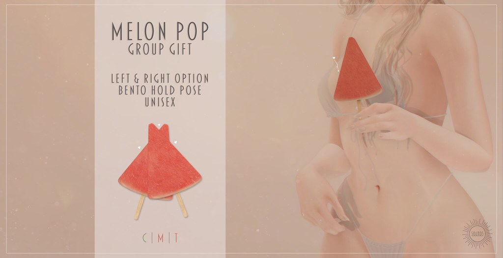 Solros – Melon Pop *Group Gift*