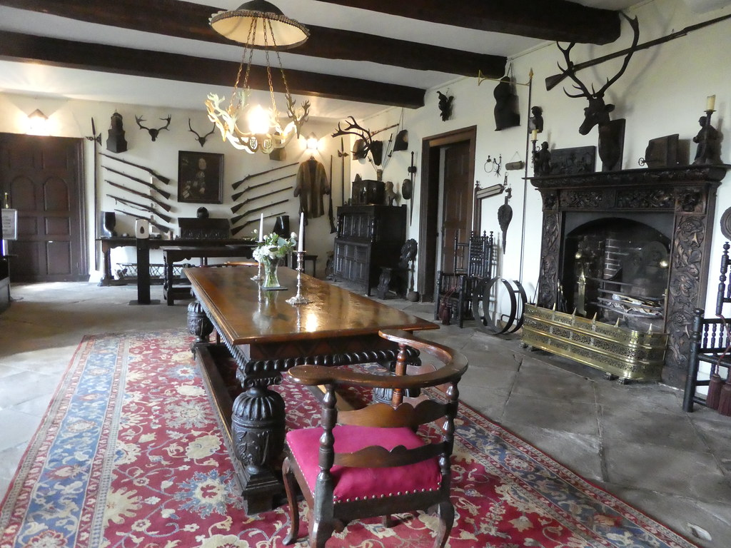 The Main Hall, Browsholme Hall, Forest of Bowland