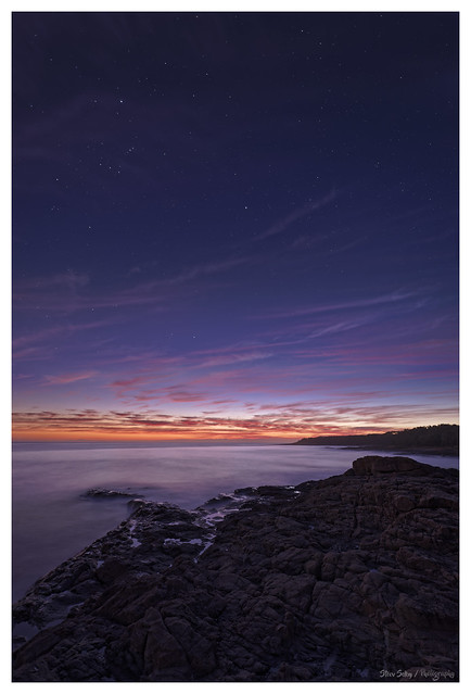 Pre Dawn at Red Sands.. Bass Point - Shellharbour.