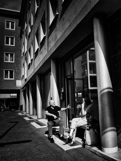 Auf Frankfurts Straßen