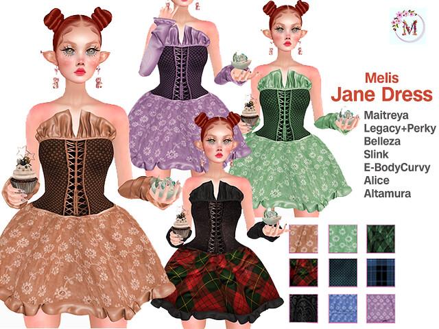 Melis-Jane Dress PACK