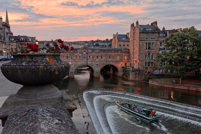Summer evenings at the Weir