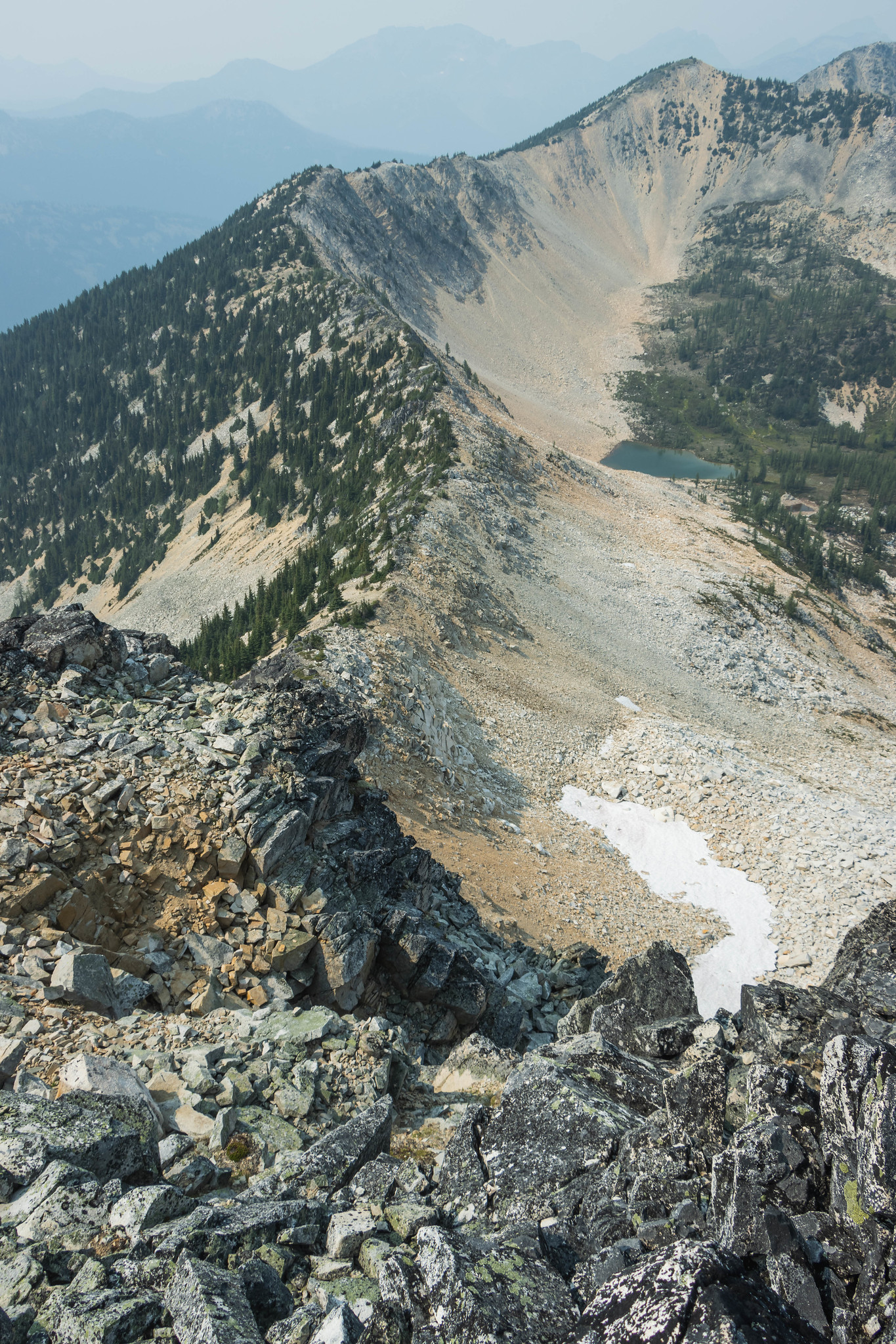 Pasayten Peak northwest ridge