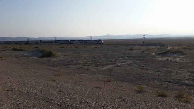 Amtrak in the Desert
