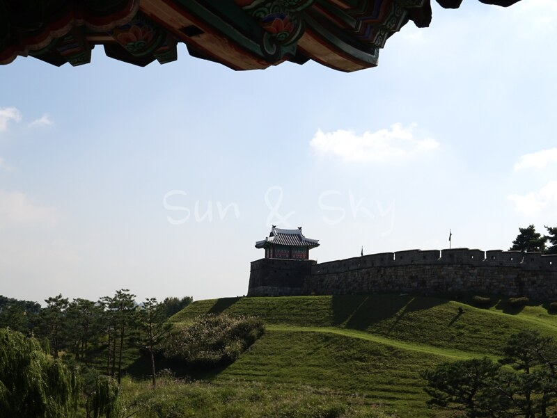 hwaseong fortress-inside