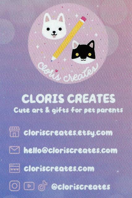cloriscreatescard