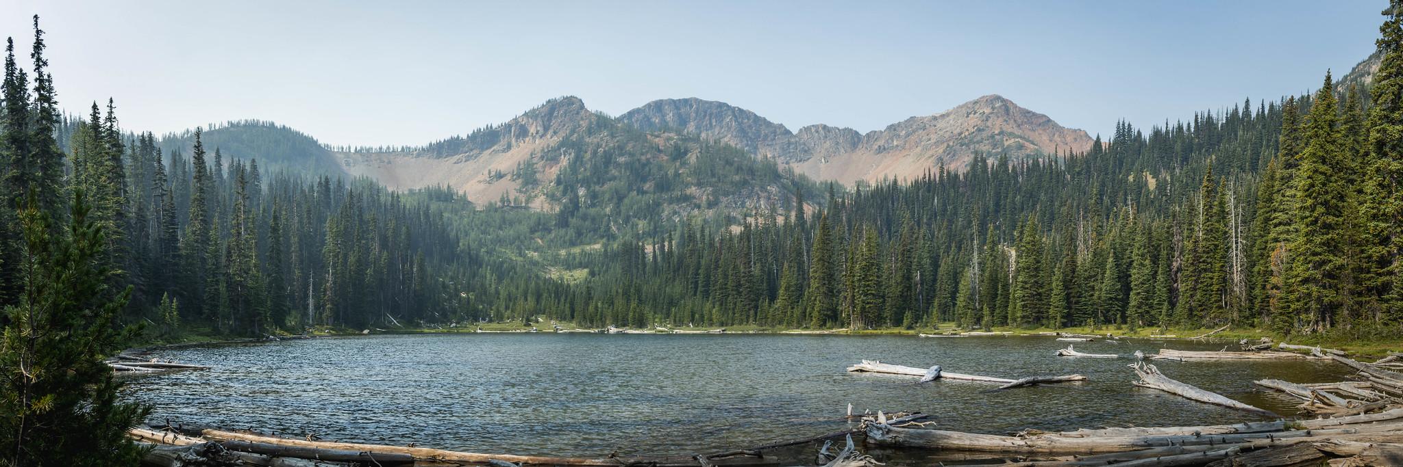 Silver Lake southern panoramic view