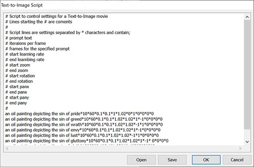Text-to-Image Script GUI
