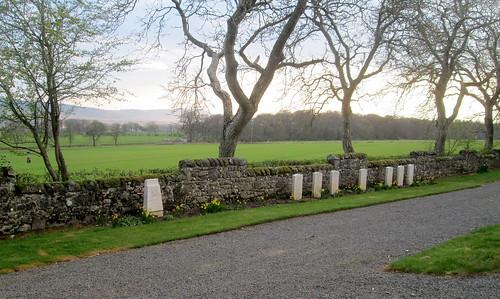 War Graves, Murie Cemetery, Errol