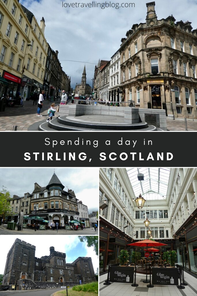 Spending a day in Stirling, Scotland