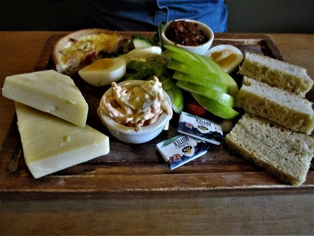 Cheese Ploughman's Devon Dumpling £9.95