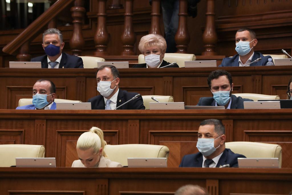 20.08.2021 Ședința plenară a Parlamentului