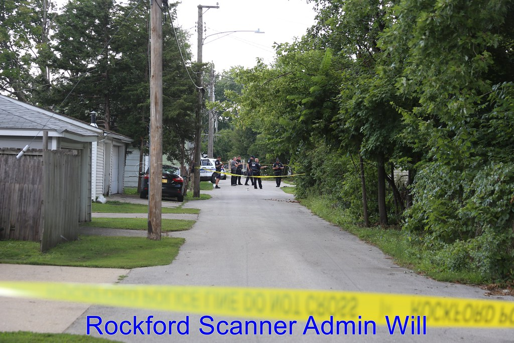 Shooting victim during a carjacking incident in Rockford, Illinois