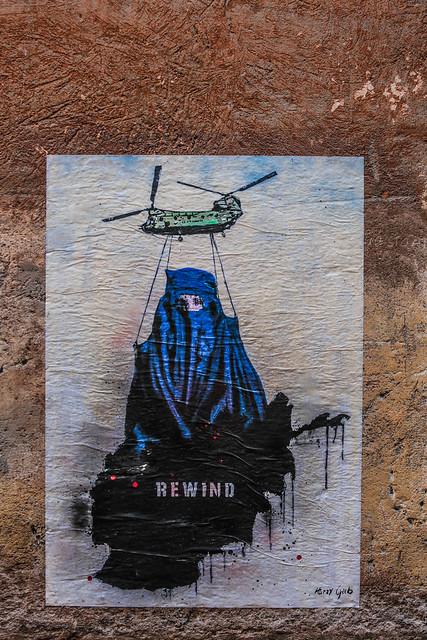 Rewind - street artist Harry Greb