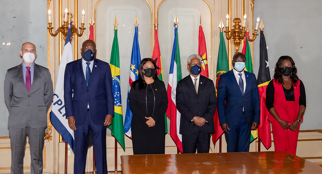 21.08. Secretário Executivo recebe Ministra dos Negócios Estrangeiros da Guiné-Bissau