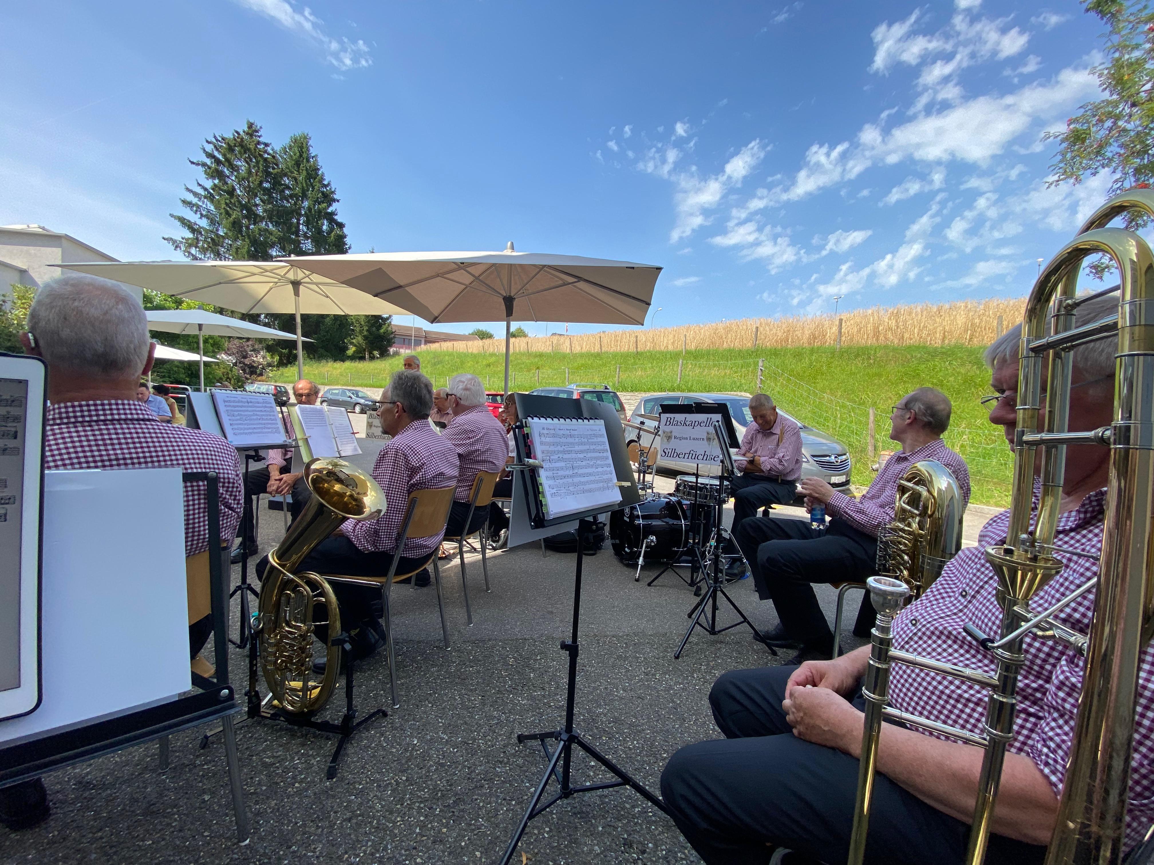 Nachmittags-Konzert Pflegewohnheim Bärgmättli Beromünster (13.08.2021)