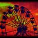 Ferris Wheel in Redscale