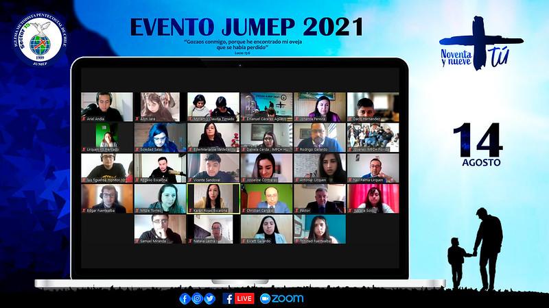 Evento de JUMEP, NOVENTA Y NUEVE +TÚ