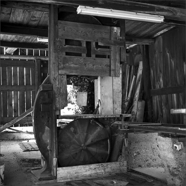 vieil atelier de menuiserie - Saint Mélany - Ardèche