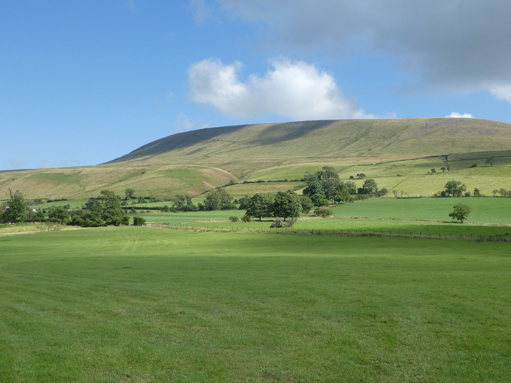 Pendle Hill in the Ribble Valley