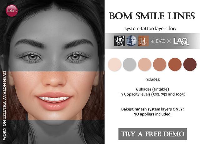 BOM Smile Lines for FLF