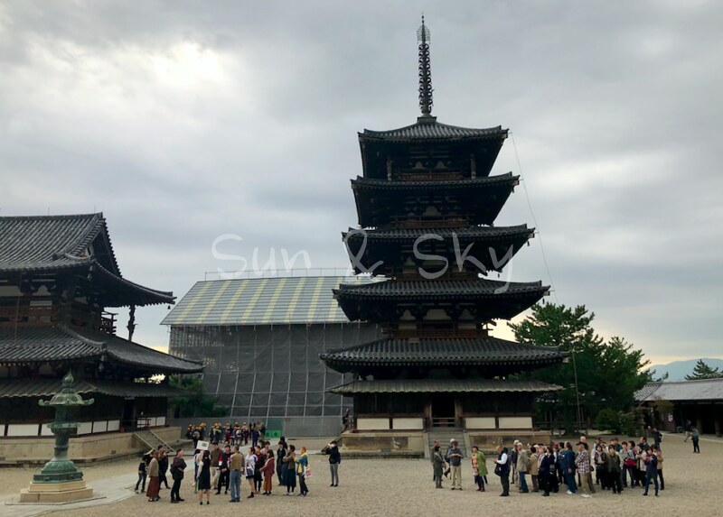 horyuji pagoda