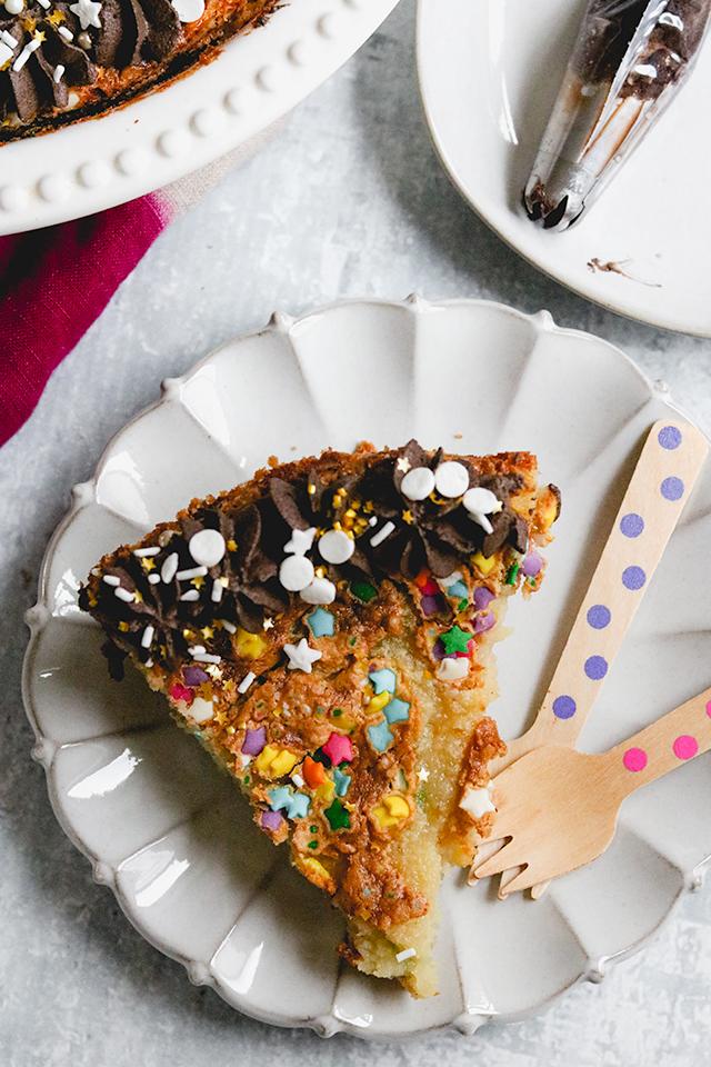 Birthday Cake Pie