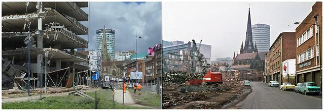 Demolition in Moat Lane Birmingham (obs/0190)