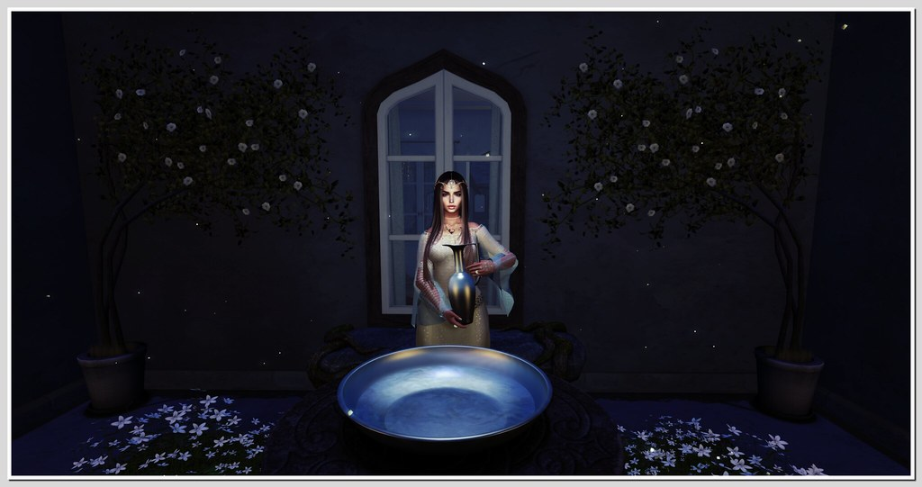 . the scrying bowl .