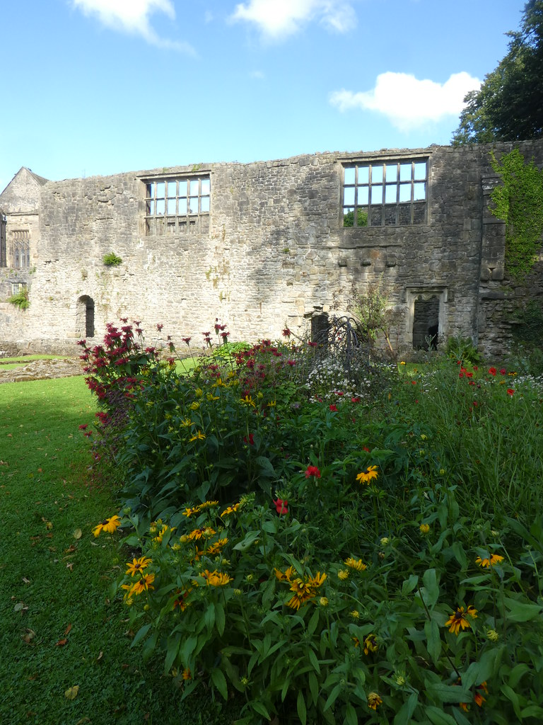 The ruins of Whalley Abbey