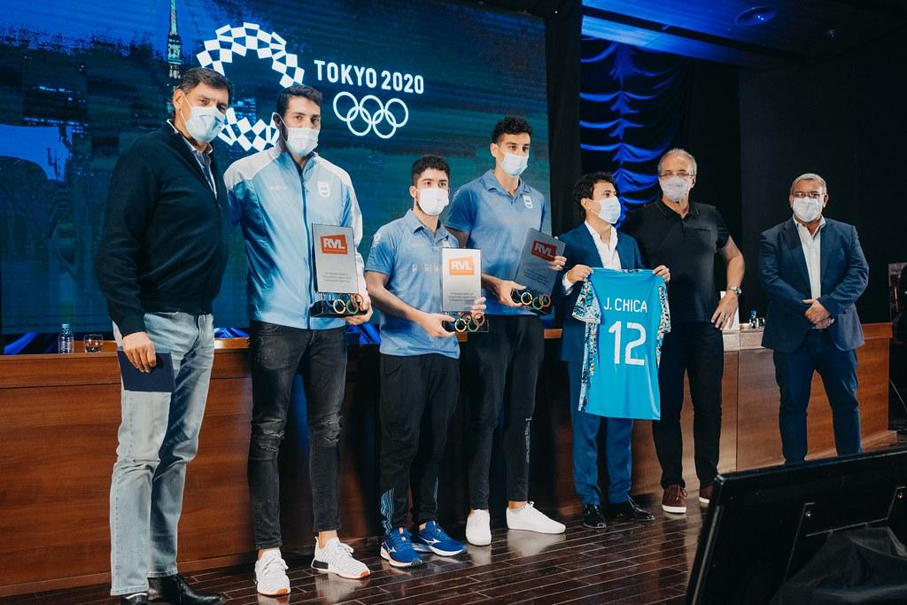 Uñac presidió el reconocimiento a los sanjuaninos que obtuvieron medallas en Tokio 2020