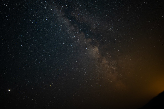 Milky Way w/ Fire Haze