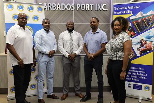 Flick album: Site Visit Barbados Port Community System Project
