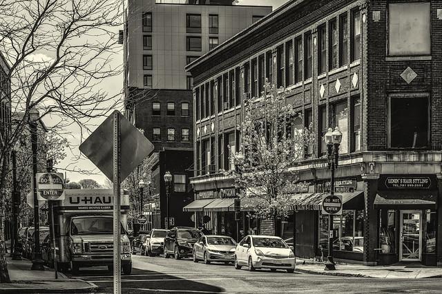Business Block--Munroe St
