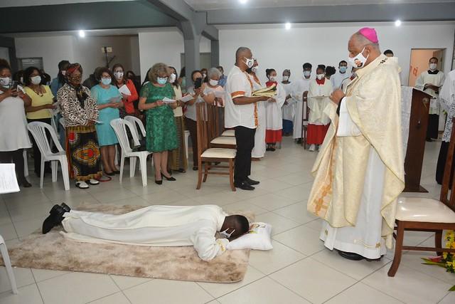 Ordenação Diaconal de Ibrahim Muinde