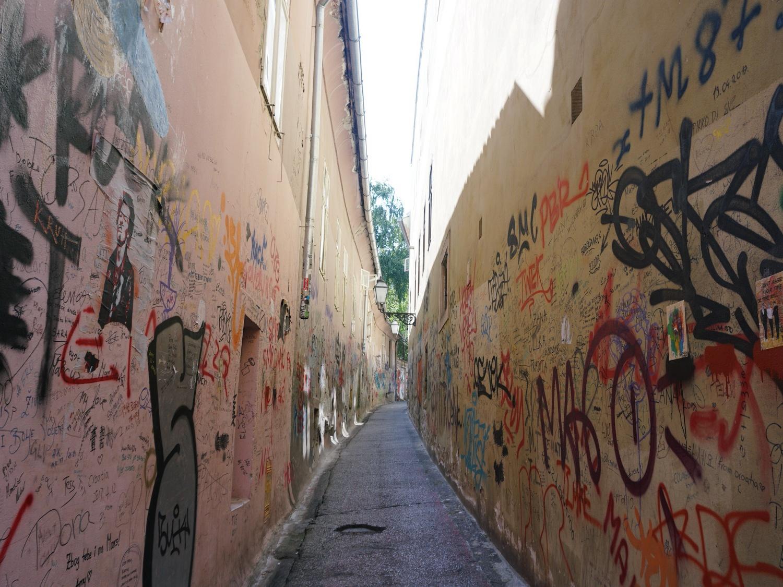 Zagreb Croatia graffiti