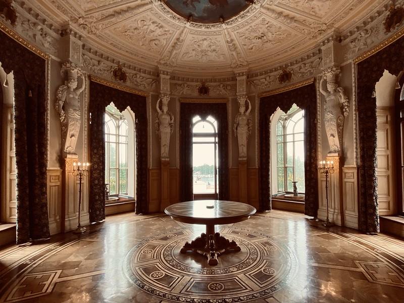 The smoking room in Schwerin Castle.